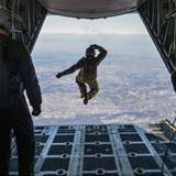 jumping from a plane like a boss