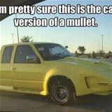 the car version of a mullet