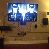 cool way to organize wires