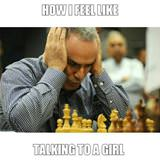 talking to a girl