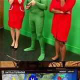 weatherman nailed his costume