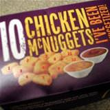 10 chicken nuggets