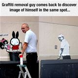 graffiti removal guy