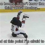 i do not know hockey