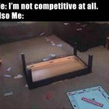 not competitive at all