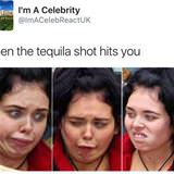 the tequila shot