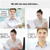 too many interviews