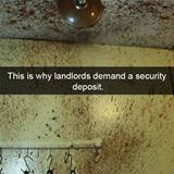 why landlords want a security deposit