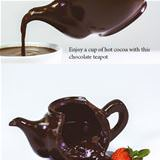 amazing chocolate tea pot