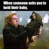 can you hold my baby