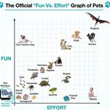 fun vs effort graph for pets