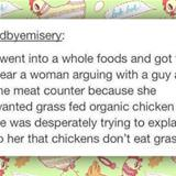 grass fed chickens
