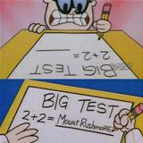 how i react for big tests