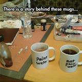 story behind these mugs