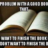 the main problem with a good book