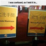 weird washrooms