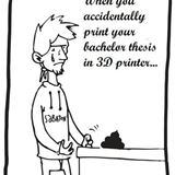 accidentally print it wrong