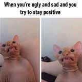 tryin to stay positive