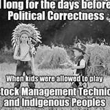 before political correctness