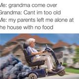 come save me grandma