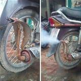 cool snake exhaust