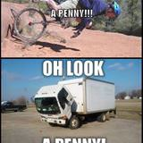 oh look a penny
