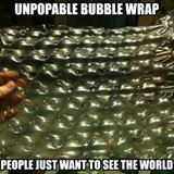 unpopable bubble wrap