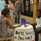 date while you wait