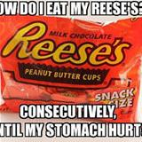 how do i eat reeses