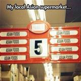 local asian supermarket