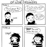 there are 2 types of wine drinkers