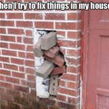 trying to fix things