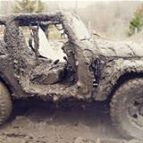 your jeep is dirty