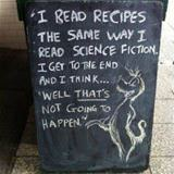how i read recipes
