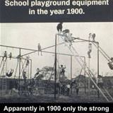 playgrounds 100 years ago