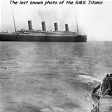 the last photo of the titanic