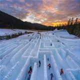 A Winter Time Maze