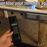 cool place to store your remote