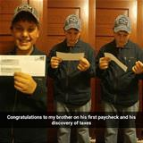 first paycheck