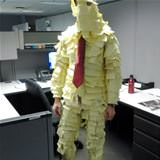 post it notes man