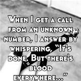 unknown callers