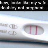 doubley not pregnant