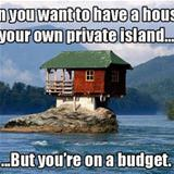 house on a private island