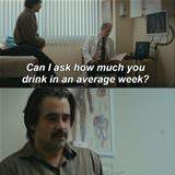 how much do you drink in an average week