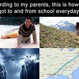 how my parents got to school