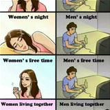 men vs women in a nutshell