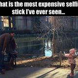 most expensive selfie stick ever