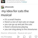 my idea for cats the musical