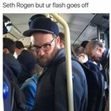 seth rogan doesnt want pictures right now