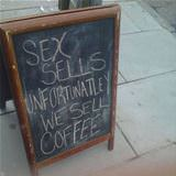 we sell coffee